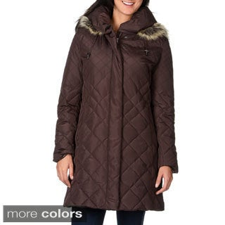 Nuage Women's 'Melboirne' Puffy Collar Down Coat