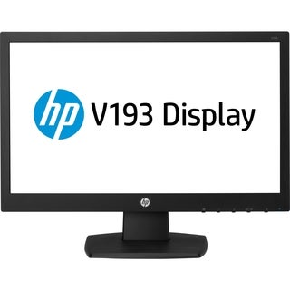 "HP Business V193 18.5"" LED LCD Monitor - 16:9 - 5 ms"