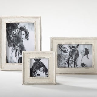 Distressed Wooden Photo Frames (Set of 2)