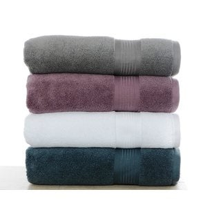 Nicole Miller Astor Micro Cotton 2-piece Bath Towel Set
