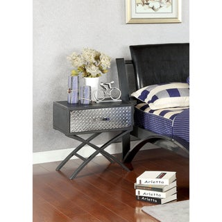 Furniture of America Liam Metal 1-drawer Youth Nightstand