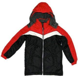 Northpoint Boys Black Bubble Jacket (Sizes 4-7)