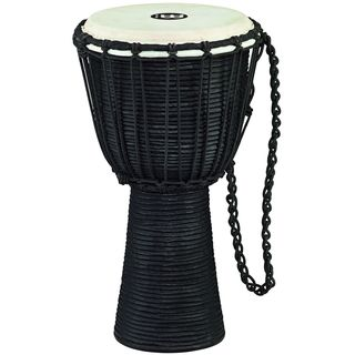 Meinl Percussion Black River Series Headliner Rope Tuned 8-inch Djembe