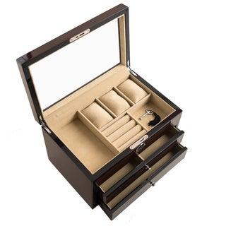 Hives & Honey Walnut Ashton Jewelry Box