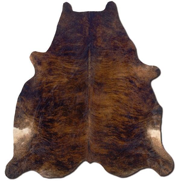 Cowhide Dark Brindle Full Skin Rug 5 39 X 8 39
