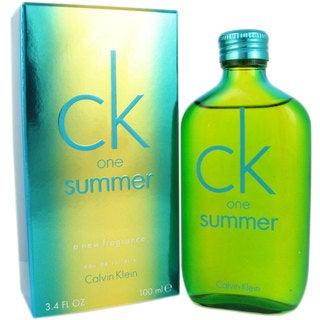 Calvin Klein One Summer 2014 3.4-ounce Eau de Toilette Spray