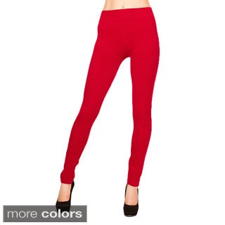 Just One Women's Warm French Terry Leggings