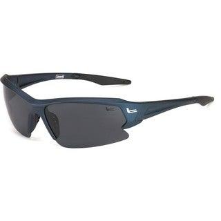 Coleman 'Streamliner' Half-shield Frame Sunglasses