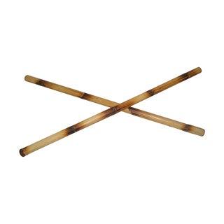Filipino Martial Art Eskrima 28-Inch Burned Rattan Sticks pair