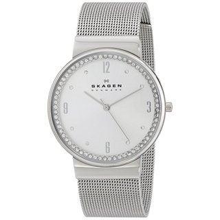 Skagen Women's SKW2152 Ancher Quartz 3 Hand Stainless Steel Silver Watch