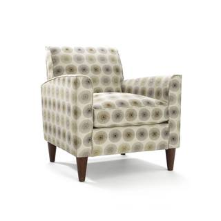 Felix Alloy Pattern Upholstered Accent Chair