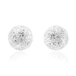 5mm Stardust Ball .925 Sterling Silver Stud Earrings (Thailand)