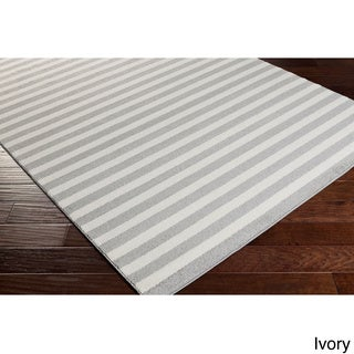 Meticulously Woven Abilene Casual Striped Area Rug (2' x 3')