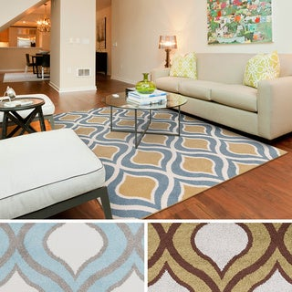 "Meticulously Woven Percy Modern Geometric Area Rug (7'10"" x 10'3"")"