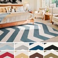 Meticulously Woven Nadiv Modern Geometric Area Rug (7'10