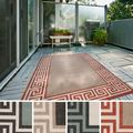 Annette Contemporary Bordered Indoor/ Outdoor Area Rug (7'6 x 10'9)