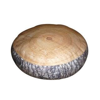 Dogzzzz Round Wood Stump Dog Bed