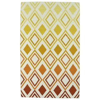 Hollywood Multi Ombre Flatweave Rug (9' x 12')