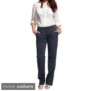 82 Degree Women's Four-pocket Trouser Pants