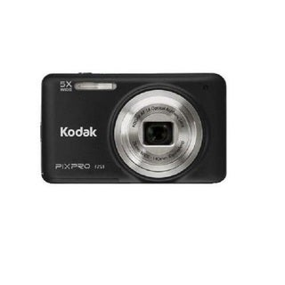Kodak PIXPRO FZ51 16MP Black Digital Camera