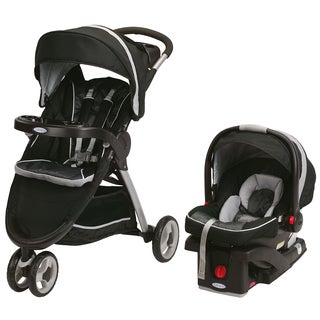 Graco FastAction Fold Sport Click Connect Travel System in Gotham