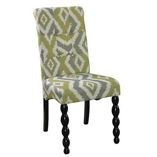 Powell Corbett Green and Grey Parson Chair (Set of 2)