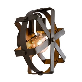 Varaluz Reel 1-light Rustic Bronze Wall Sconce
