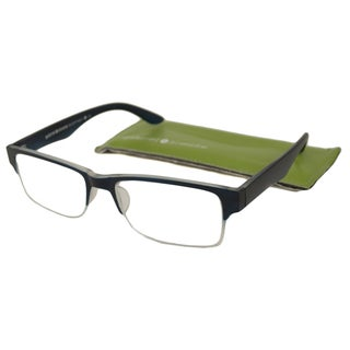 Gabriel + Simone Men's Eliott Rectangular Reading Glasses