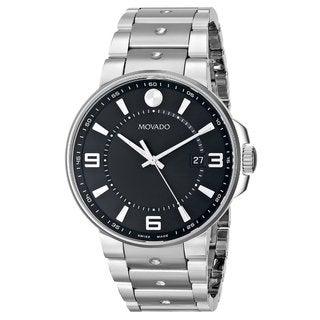 Movado Men's 0606761 SE Pilot Stainless Steel Watch