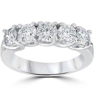 Bliss 14k White Gold 1 1/2ct TDW Diamond Ring (G-H, I2-I3)