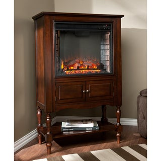 Upton Home Leighlin Mahogany Fireplace Tower