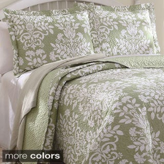Danneli 3-piece Floral Quilt Set