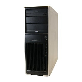 HP XW4400 Workstation Intel Core2Duo 1.8GHz 2GB 160GB DVD Windows 7 Home Premium Midtower Computer (Refurbished)