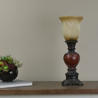 Red and Brown Decorative Uplight