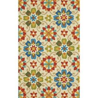 "Grand Bazaar Tufted Polypropylene Hareer Rug in Multi 8'-6"" x 11'-6"""