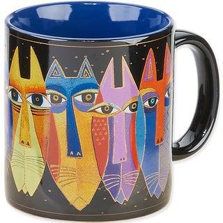 Laurel Burch Artistic Mug Collection-Tribal Cats