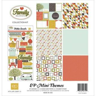 "Echo Park Collection Kit 12""X12""-Family Reunion"