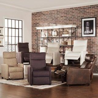 TRIBECCA HOME Saipan Modern Fabric Recliner Club Chair