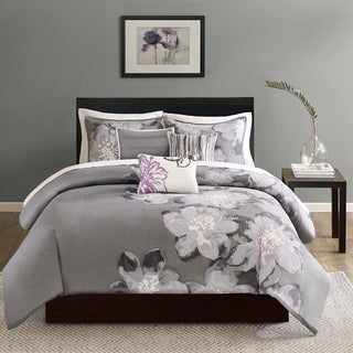 Madison Park Alicia Cotton 6-piece Printed Duvet Cover Set