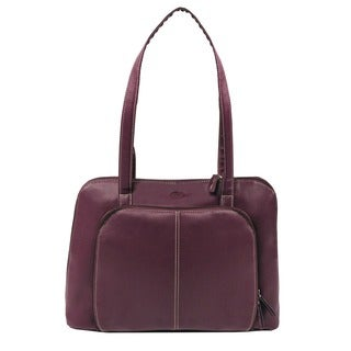 Bugatti Women's 15-inch Purple Laptop Tote Bag
