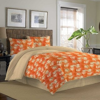 Tommy Bahama Newport Spice 4-piece Reversible Comforter Set