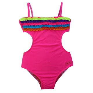Azul Swimwear Girls 'Chasing Rainbows' Monokini