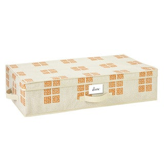 SedaFrance Cameo Key Cream Under-the-Bed Storage Box