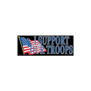 I Support Our Troops Bumper Sticker