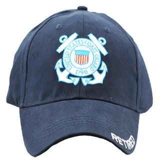 US Coast Guard Retired Military Cap
