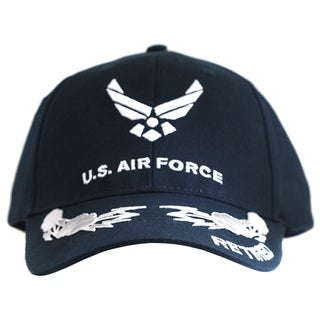 US Air Force Retired Cap with Scrambled Eggs