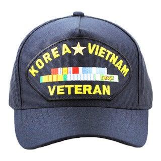 Korea and Vietnam Veteran Hat with Ribbons