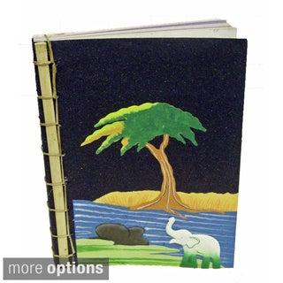 Mr. Ellie Pooh Bamboo Spined Paper Book (Sri Lanka)