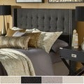 INSPIRE Q Marion Nailhead Wingback Tufted Queen-sized Headboard