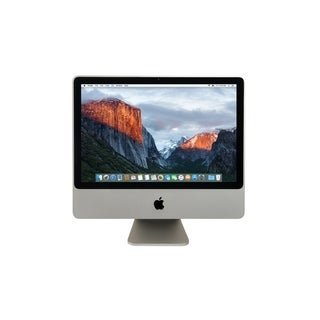 Apple iMac 20-inch Core 2 Duo 4GB-RAM 320GB-HD Mavericks 10.9 All-in-one Desktop Computer